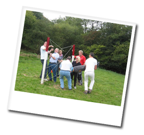 mobile team building shropshire
